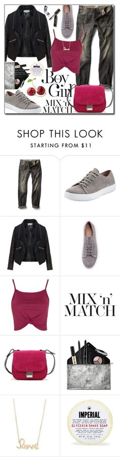 """Mix and Match 3"" by adnaaaa ❤ liked on Polyvore featuring Boy Meets Girl, MANGO MAN, Vince, Zizzi, Topshop, Proenza Schouler, Smashbox, Sydney Evan, Bobbi Brown Cosmetics and MixandMatch"