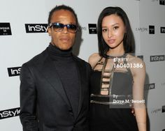 edgar-davids-and-leah-weller-arrive-at-the-gettyimages Edgar Davids, The Man, Style, Swag, Outfits