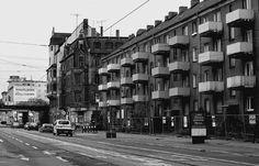 Delitzscher Straße, Halle (Saale), 2006. Foto: © Ulrich Joho