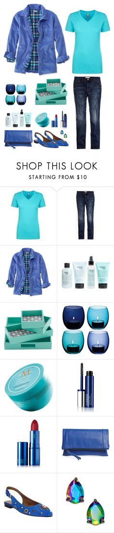 """""""Blues"""" by musicfriend1 ❤ liked on Polyvore featuring Madewell, L.L.Bean, philosophy, Intelligent Design, LSA International, Moroccanoil, Clinique, Lipstick Queen, Sole Society and John Lewis"""
