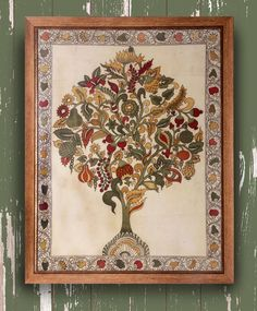 Tree of Life - Original Kalamkari on Fabric