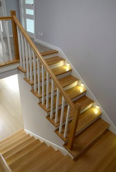 Gallery of install stair handrail inspirational quick guide stairs & ra Home Stairs Design, Interior Stairs, Home Room Design, Home Interior Design, House Design, Metal Barn Homes, Metal Building Homes, Pole Barn Homes, Building A House