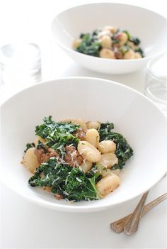 Gnocchi with Sausage and Kale