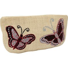 Moyna Handbags Large Cosmetic Pouch Ivory/Black - Moyna Handbags Ladies Cosmetic Bags
