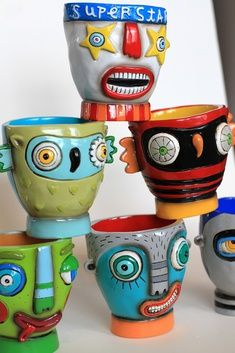Ceramic pieces of Brighton-based artist, Ken...