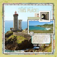 """We visited some of the lighthouses along the coast in Finistere, Brittany, France.<br /><br /><br />Adventures Layered Template No.12 *Coming soon*<br /> Spring Bouquet Solids Paper Pack *Coming soon*<br /> (green paper on 60%, yellow paper on 70%)<br /> <span style=""""text-decoration:underline""""><span style=""""font-weight:bold""""><a rel=""""nofollow"""" href=""""http:/..."""