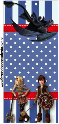 How to Train your Dragon: Free Printable Candy Bar Labels.