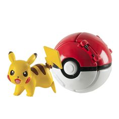 Practice your skills as a Pokemon Trainer with the Throw 'N' Pop Poke Ball! The Tomy Pokemon Throw N Pop Poke Ball 2 inch Action Figure with Poke Ball - Features: Pokemon Gifts, Pokemon Toy, Toys For Little Kids, Kids Toys, Pikachu Pokeball, Bulbasaur, Pokemon Merchandise, Thing 1, The Ordinary