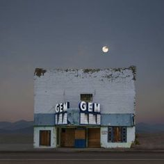 "Saatchi Art Artist Ed Freeman; Photography, ""Gem Theater, Pioche Nevada. Edition 6 of 50"" #art"
