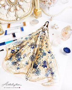 Dress Design Sketches, Fashion Design Drawings, Fashion Sketches, Love Fashion, Fashion Art, Fashion Models, Womens Fashion, Fashion Illustration Dresses, Fashion Illustrations