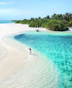 SOOO freaking beautiful!! Can just picture US walking hand in hand along this gorgeous beach at sunset or sunrise babe *long sigh*...ONE DAY!! #Maldives