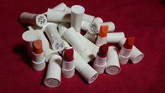 Tiny vintage Avon lipstick samples.