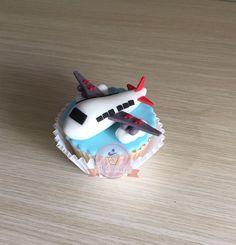 Cupcake de avion