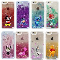 Cute Cartoon Disney Glitter Star Quicksand Case Cover for iPhone SE 7 Plus - Waterfall Iphone Plus Case - Waterfall Iphone Plus Case ideas - Diy Iphone Case, Glitter Iphone 6 Case, Iphone 5s Covers, Iphone Phone Cases, Phone 7, Unique Iphone Cases, Disney Phone Cases, Hard Phone Cases, Cute Phone Cases