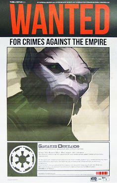 Star Wars Rebels - Zeb Wanted Poster