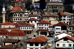 City of Safranbolu.Karabük Province in Cultural. World Heritage Site since Visit Turkey, Turkey Holidays, Holiday Places, Istanbul Turkey, World Heritage Sites, Beautiful Homes, Places To Visit, Europe, Mansions