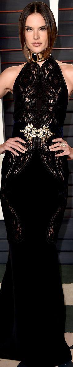 Alessandra Ambrosio 2016 Vanity Fair Oscar Party