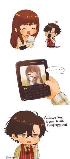 Mystic Messenger- Jumin Han x Mc #Otome #Game #Anime. Susanghan Messenger