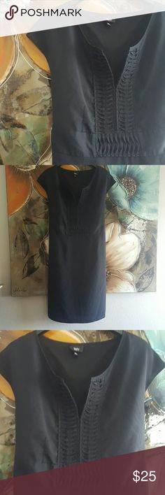 1/2 OFF  Mossimo Dress NWOT Summer dress lightweight v neck. Cap sleeves. Fully lined. 100% polyester. Length 38in. Will fit 12/14 Mossimo Supply Co Dresses