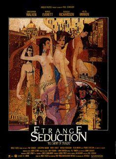 French poster for The Comfort of Strangers (1991)  Directed by Paul Schrader  Starring Christopher Walken,Rupert Everett,Natasha Richardson & Helen Mirren