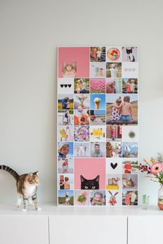 Mirror Wall Art, Diy Room Decor, Home Decor, Photo Displays, Summer Of Love, Create Yourself, Sweet Home, Projects To Try, Photo Wall