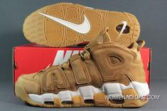 buy online 58f21 959b5 Nike Air More Uptempo Wheat Flax Gum Aa4060-200 Mens Copuon