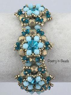 Beading Bracelet Tutorial Bead Pattern Beaded Queen Anne
