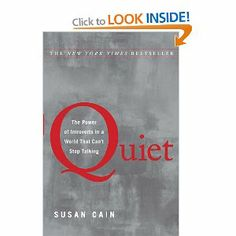 Just started this, but it's a very interesting read so far. Quiet: The Power of Introverts in a World That Can't Stop Talking
