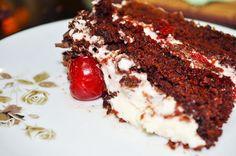 Black Florest cake/ Bolo floresta Negra