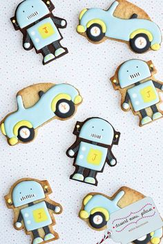 ♔Robot Cookies