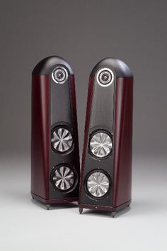 High end audio audiophile Thiel CS3.7 speakers