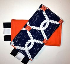 This pair features a beautiful fabric from Michael Miller's Ahoy Matey collection. They were designed to coordinate perfectly with Tula Baby Carrier's Ahoi pattern (http://www.tulababycarriers.com/products/ahoi-tula-ergonomic-baby-carrier)