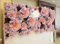 Resultado de imagen para flower giant paper