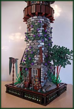 Now that's a LEGO Watchtower