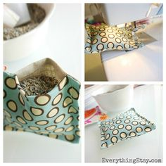 How to Make Lavender Sachets {Tutorial} Lavender Crafts, Lavender Bags, Lavender Sachets, Homemade Heating Pad, Sachet Bags, Sewing Machine Projects, Scented Sachets, Scrap Material, Diy Christmas Gifts
