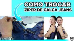 Como Trocar Zíper de Calça Jeans