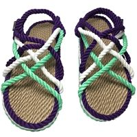 Mint Sandals, Rope Sandals, Barefoot Shoes, How To Make Shoes, Gray Color, Baby Shoes, Take That, Footwear, Smile