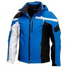Spyder, Titan Skijacke Herren, blau-weiß-schwarz