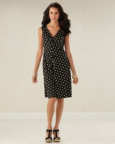 Dotted Line - Updated Dress with a Modern Shape  #SomaIntimates
