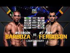 Fight Night Mexico City Free Fight: Tony Ferguson vs Edson Barboza