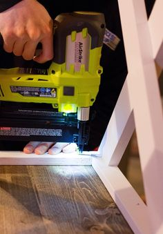 Using a Ryobi Nail Brad for Home DIY Projects