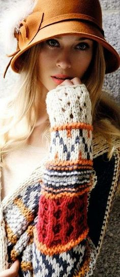knitted style ♥✤ | Keep Smiling | BeStayBeautiful