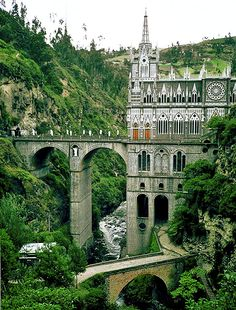las lajas cathedral colombia | Regardless of your beliefs in apparitions of the Virgin Mary, you can ...