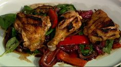 Michael Symon's Grilled Chicken with Ratatouille Recipe #thechew