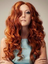 Curly Hair Styles, Natural Hair Styles, Natural Red Hair, Curly Hair Problems, Types Of Curls, Ginger Hair, Hair Pictures, Hair Dos, Gorgeous Hair