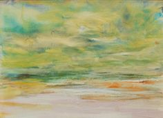 "Gantz, ""Landscape"", Oil on Canvas, 12""x16"", 14.5""x18.5"", $750"