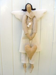 Tilda tan angel by countrykitty, via Flickr
