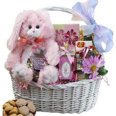 Art of Appreciation Gift Baskets My Special Bunny Easter Basket, Pink or Purple Rabbit  $56.91  http://www.amazon.com/gp/product/B0006GWXYY/ref=as_li_ss_tl?ie=UTF8=1789=390957=B0006GWXYY=as2=wonderfulrota-20  #Easter