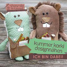 Kummer Korki Designnähen zur Veröffentlichung des neuen E-Books - Ich bin dabei!