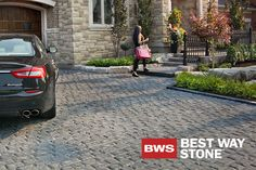 Best Way Stone Pavers > Corso (Ultra Black) #outdoor #driveway #landscape #design